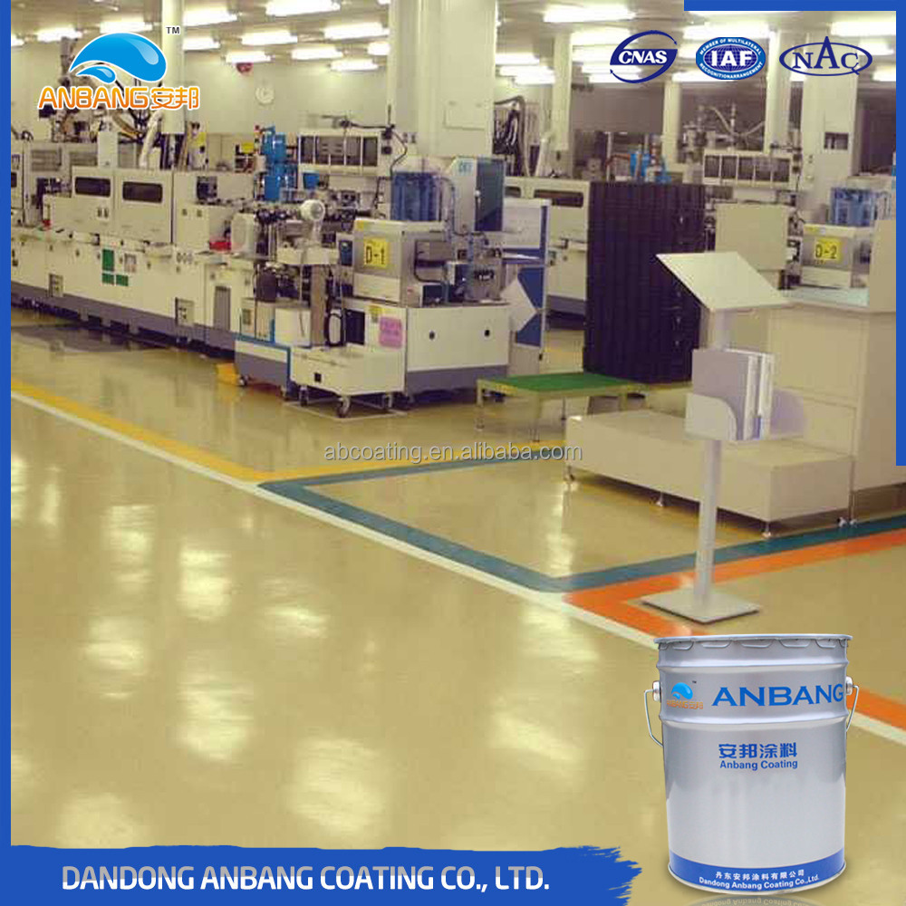 AB-DP-300M fast drying hard film chemical resistance industrial floor coating