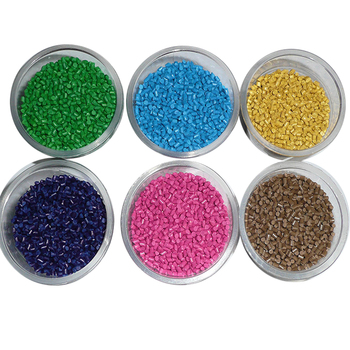 RHOS standard anti aging color stability plastic pellets color masterbatch for plastic products
