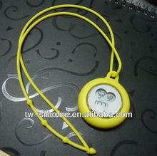 Silicone digital necklace pocket watch
