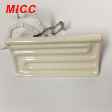 MICC high power density white/black/yellow infraded ceramic heater for industrial use