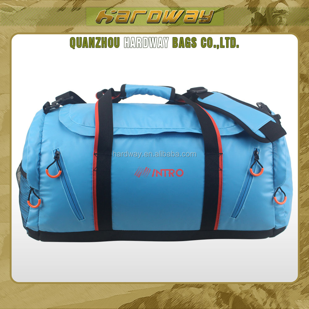Wholesale waterproof duffle bag gym shark bag custom gym bag