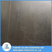 Mesh supplier high security round hole perforated metal screen