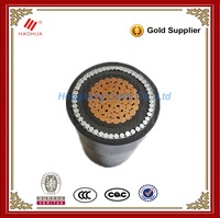 No.0128-- Low voltage underground Single core AWA 0.6/1kV electrical copper XLPE PVC 400mm2 cable