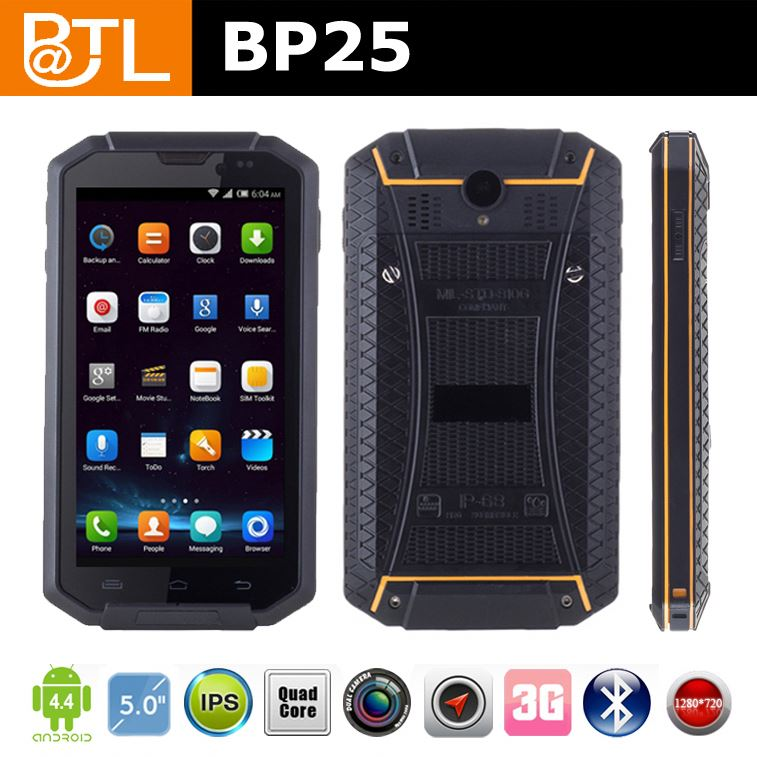 WDF376 BATL BP25 Android 4.4.2 rugged android phone verizon Dual SIM card,for rest nt