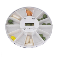 Plastic 14 Days Pill Dispenser Automatic