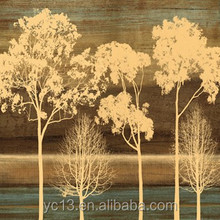 High Quality Tree Abstract Oil Painting