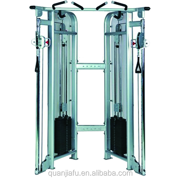 COMMERCIAL GYM EQUIPMENT Dual adjustable pulley