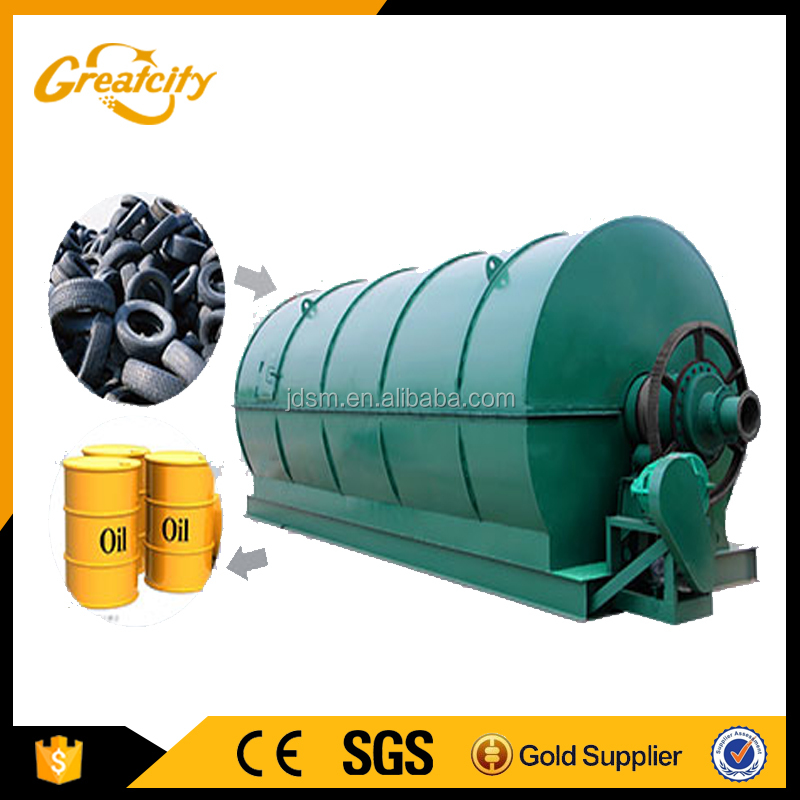 High quality waste tire recycling equipment for sale