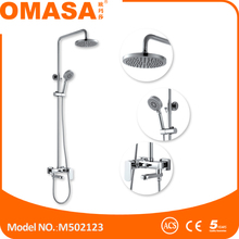 Sanitary Wares floor stand bathroom faucets bath and shower set