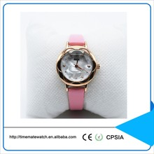 Best small wrist women watches oem brand watch with color leather strap
