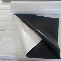 High Standard Anti aging UV treated Reflective White and Black Panda Plastic Poly PE Film for Light Deprivation Greenhouse