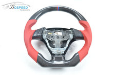 Carbon Fiber Steering Wheel racing car steering wheel For Mazda 3