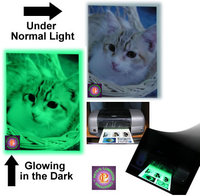 Glow in the Dark Inkjet Photo Paper
