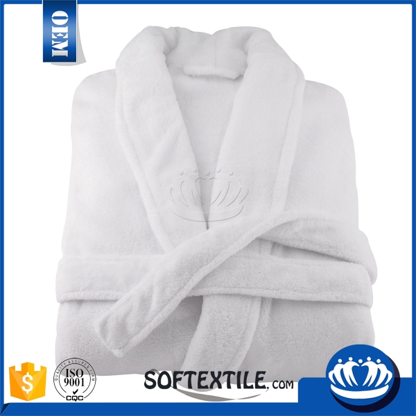 Softextile cheap wholesale terry men/women 100 cotton waffle hotel bathrobe