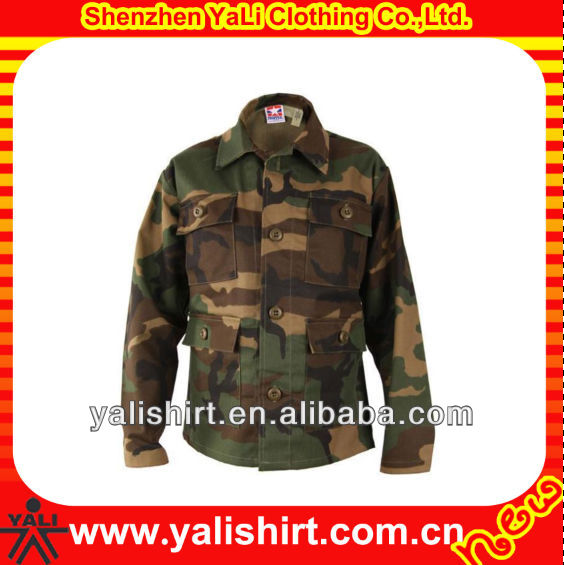 wholesale winter custom made fashionable cheap discount digital fleece camo jacket