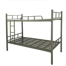cheap adult metal used bunk bed for sale