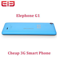 Elephone G1 Android 4.4 Cheap 3G WCDMA Smart Phone 4.5 Inch 854*480 Screen MTK6582M Quad Core 512MB RAM 4GB RAM Mobile Phone