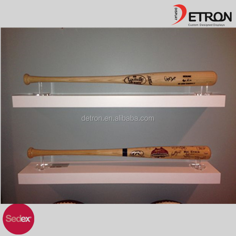 Custom Acrylic Baseball Bat Display Rack