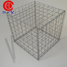 5*5cm mesh size 2-4mm wire diameter hot dipped galvanized welded gabion box wire fencing for decoration