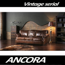 aviation genuine leather sofa A119