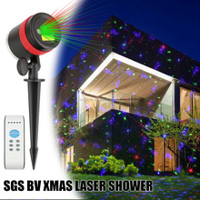 Programmable Controller Christmas Laser Lights Outdoor Garden Star Motion Shower