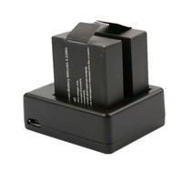 New Products USB Charger Dual Battery Charger for SJCAM SJ4000 / SJ5000 / SJ6000