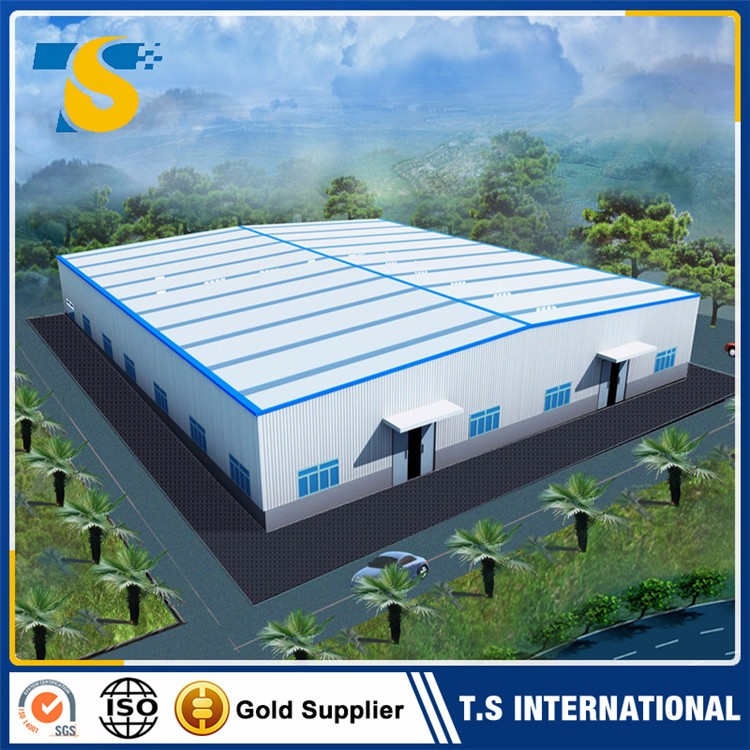 2017 China Hot Selling fast construction warehouse for rent korea