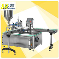 Automatic nail polish filling capping machine