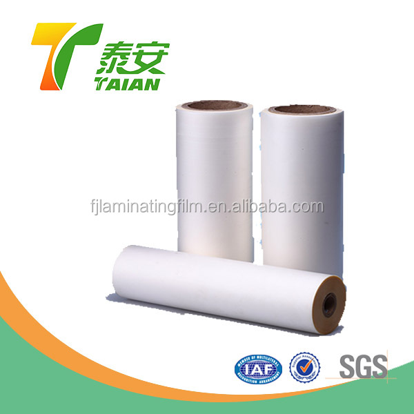 China matte transparency soft pvc plastic lamination film wrap film roll