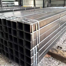 Pre galvanized square hollow section/Q235 rectangular steel pipe/ galvanized 18x18 steel tube for structure