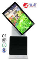 42 inch floor standing shopping mall rotate digital signage kiosk