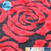 Quilt Cover Fabrics 80 Rayon 20 Polyester Weft Knitted Burn Out Velvet Fabric