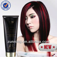 Long lasting and non allergy MSDS glitter hair dye color