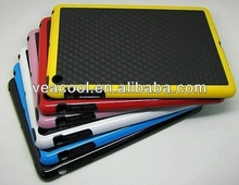 "Black Plate+Color Bumper Frame TPU case Cover For Apple Ipad MINI 7""tablet case"