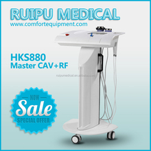 very hot best selling cavitation rf radio frequency belly fat removal skin tightening machine