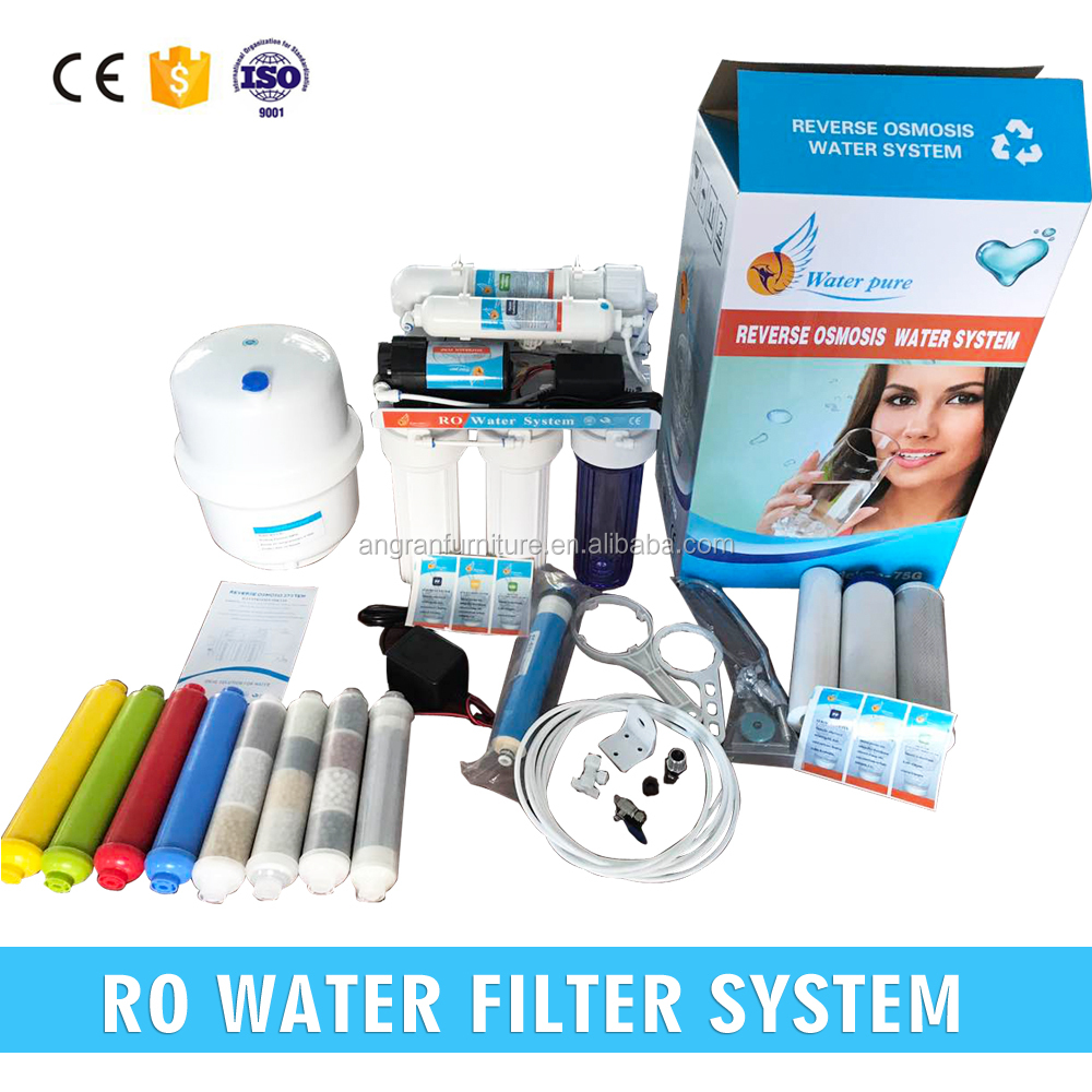 china maunfacturer 5 stages drinking reverse osmosis <strong>water</strong> filter <strong>system</strong>