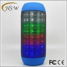 2017 Hot products waterproof bluetooth speaker wireless with led light