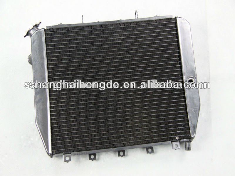 "Full aluminum radiator 1""Tubes 2 Row For Ford Pickup Trucks w/Chevy conversion 1953-1956 truck radiator grille"