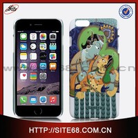 Water transfer art pc cell phone case for iphone case