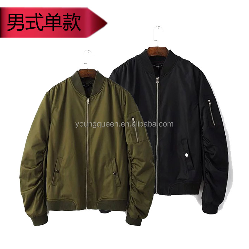 NZ90 Europe man pilot jacket zipper for jacket