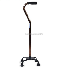 Strongly Recommended stainless steel lightweight anti-skid Four feet crutches
