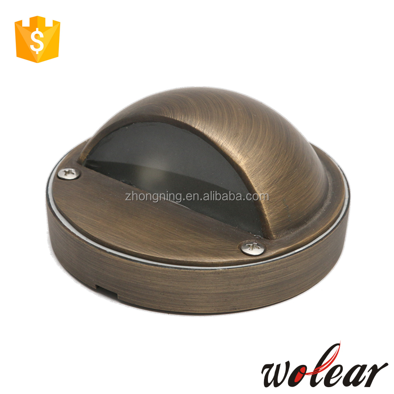 12v led brass wall light outdoor lighting