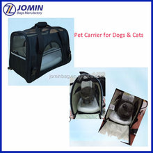 Pet Carrier for Dogs & Cats Comfort Airline Approved Travel Tote Soft Sided Bag for Pets