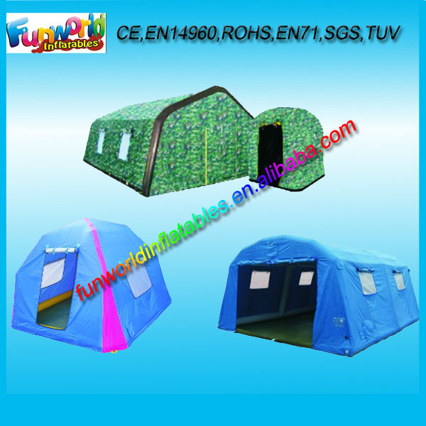 2014 Professional Inflatable Camping Equipment, Camping Tent For Sale (FUNTENT1-096)
