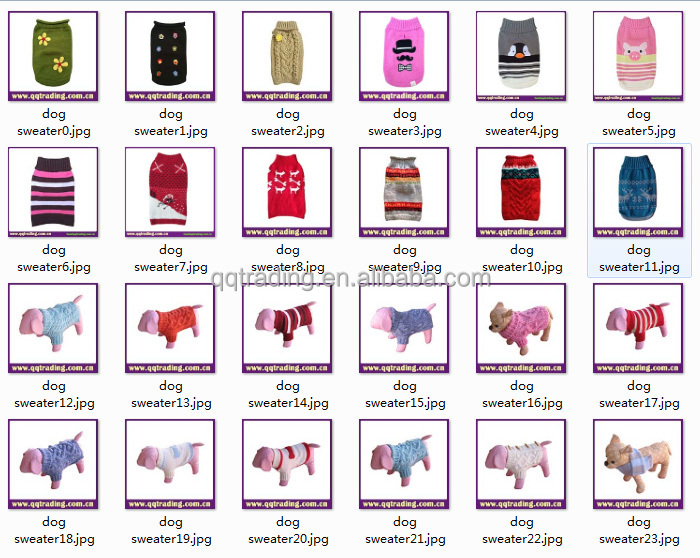 Free Patterns For Hand Knitted Dog Sweaters Easy Cute Dog Sweater