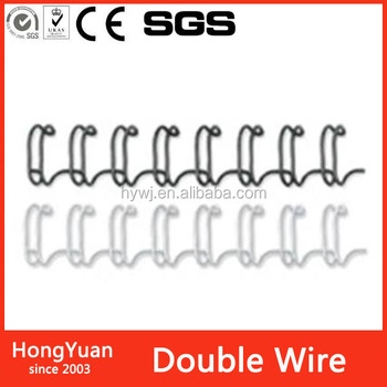 Education Supplies hot sale double loop wire o for binding,double loop wire o double wire loop, iron double loop wire for note b