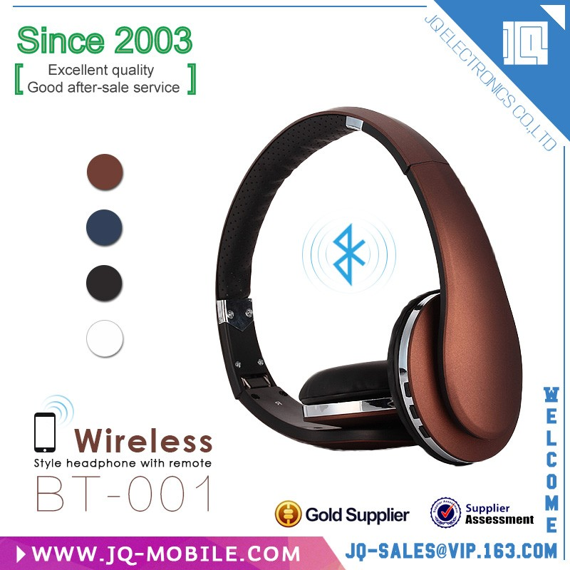 New products 2016 cell phone accessory top wireless bluetooth device stereo headset