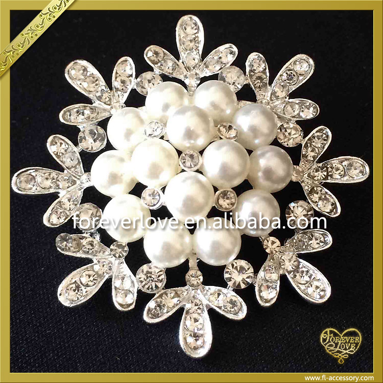 2016 New Arrival Fashion snowflake Brooch PinFB-021