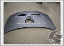 EVO 10 OEM STYLE HOOD WITHOUT CENTRE SCOOP & SIDE VENTS CARBON FIBER