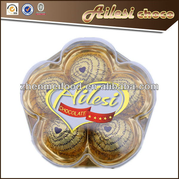 5PC Flower Shape Compound Chocolates